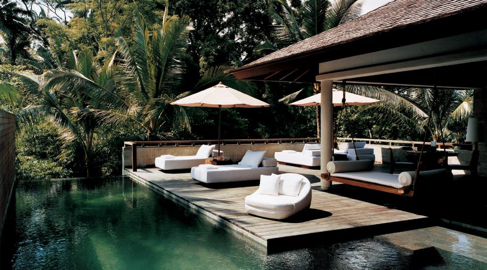 Outside Room three days of luxury at como shambhala estate